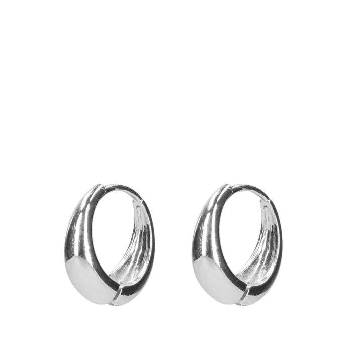Silberfarbene Ohrringe