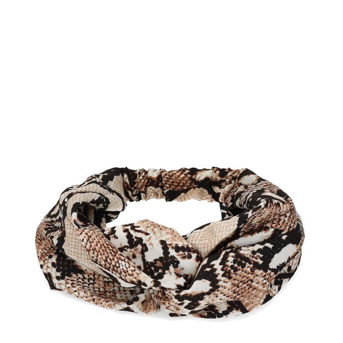 Haarband met snakeprint