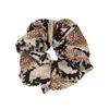 Scrunchie met snake print