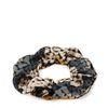Multicolor snakeskin scrunchie