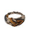 Multicolor snakeskin haarband