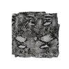 Grijze sjaal met snakeskin