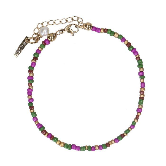 Buntes Perlen-Armband