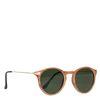 Retro-Sonnenbrille in Holz-Optik