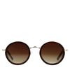Runde Retro-Sonnenbrille
