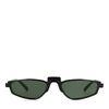 Schmale schwarze Sonnenbrille