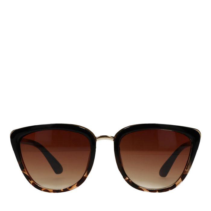 Lunettes de soleil élégantes - marron