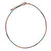 Collier multicolore avec perles