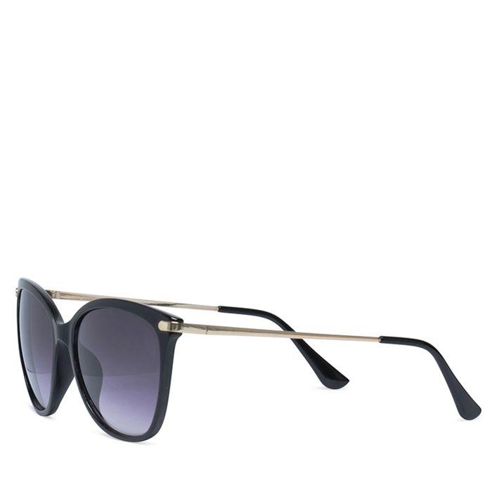 Élégantes lunettes de soleil - noir