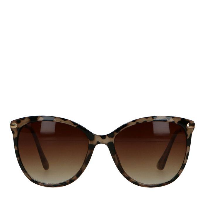Classy zonnebril met cheetahprint