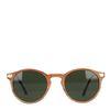 Houtlook retro zonnebril