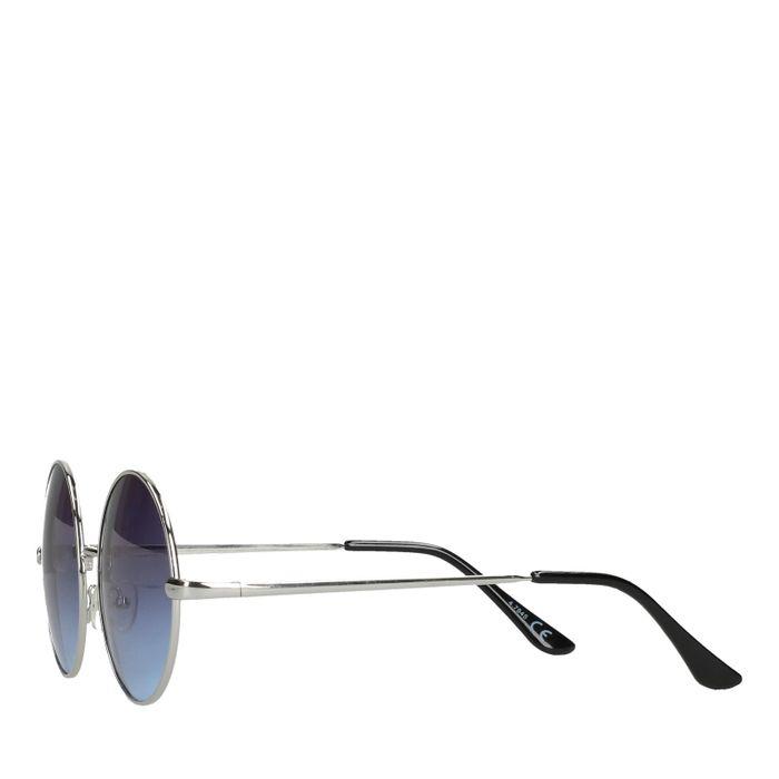 Ronde retro zonnebril