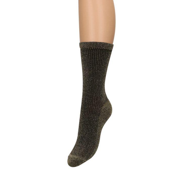 Gouden glitter sokken