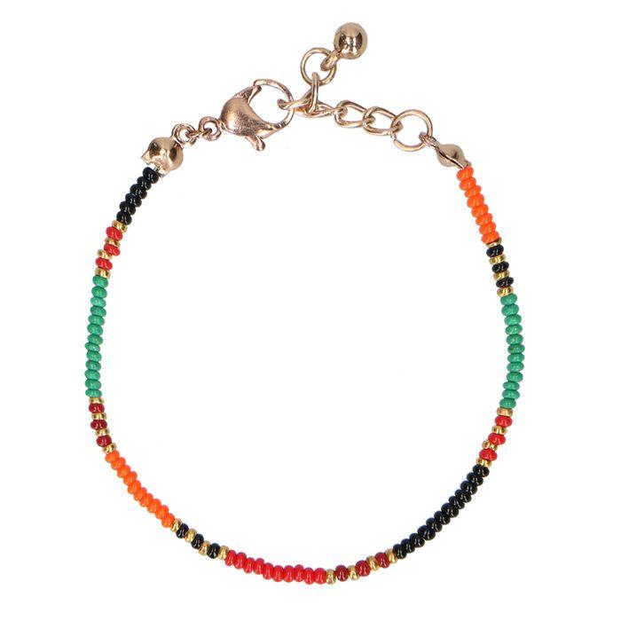 Multicolor armband met kraaltjes