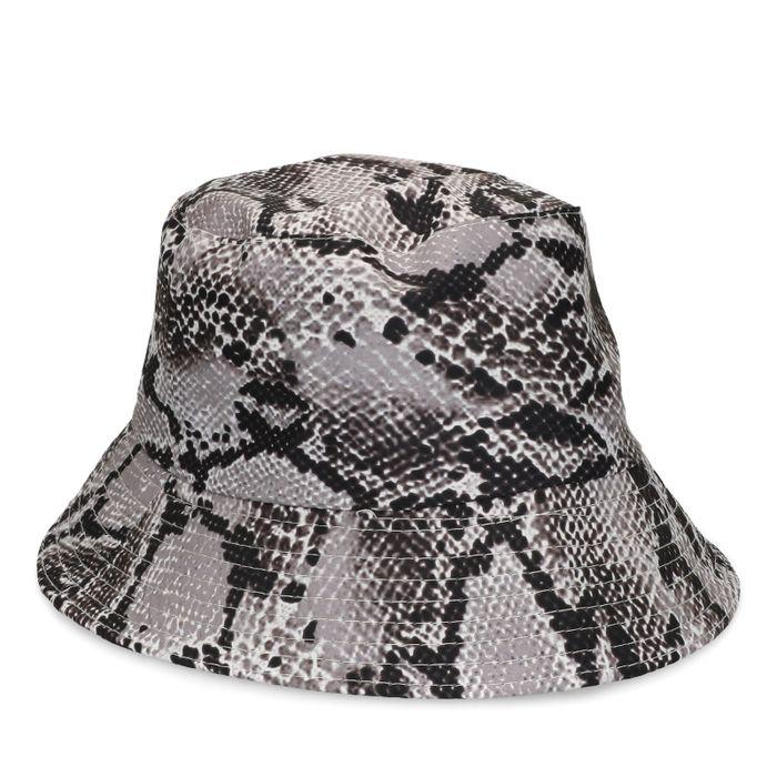 MarijeZuurveldxSacha snakeskin bucket hat