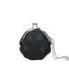 Zwarte portemonnee met hengsel