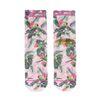 XPOOOS sokken met bloemenprint