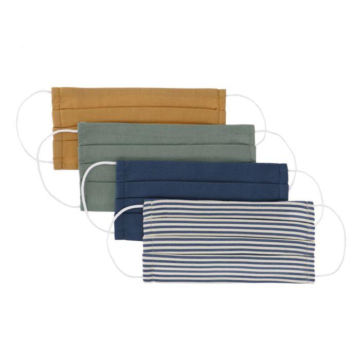 Mondkapjes in neutrale kleuren (set van 4)