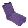 Paarse glitter sokken