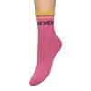 Rosafarbene Glitzer-Socken