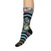 XPOOOS Socken mit Blumenmuster