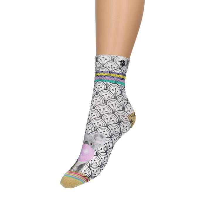 XPOOS Socken mit Koala-Aufdruck