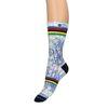 XPOOOS Socken mit Rennrad-Aufdruck