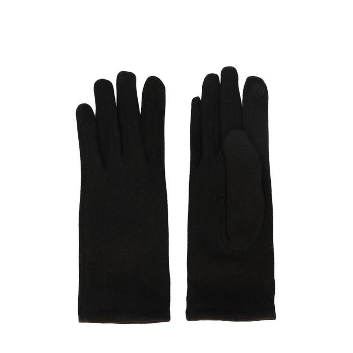 Schwarze Basic-Handschuhe