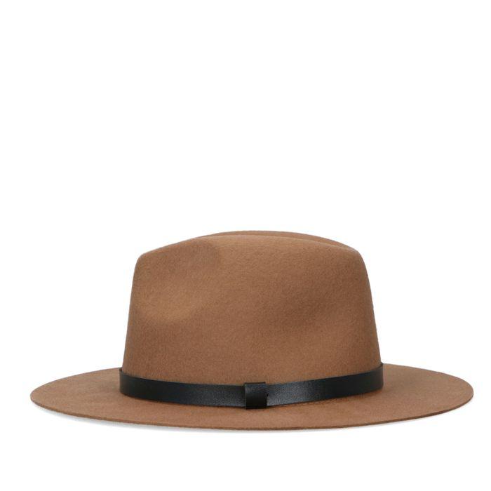 Chapeau en laine - marron