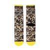 XPOOOS Chaussettes avec imprimé léopard