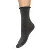 Chaussettes pailletées - noir