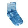 Chaussettes tie-dye - bleu