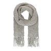 Écharpe tricotée - gris