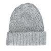 Bonnet tricoté - gris