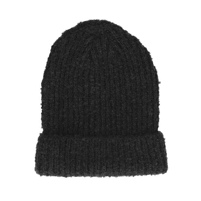 Bonnet tricoté - noir