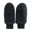 Moufles duveteuses - noir