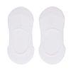 Socquettes invisibles 2 paires - blanc