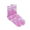 Chaussettes tie-dye - rose