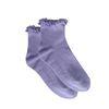 Chaussettes avec froufrous - mauve