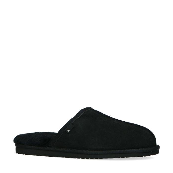 Schwarze Pantoffeln