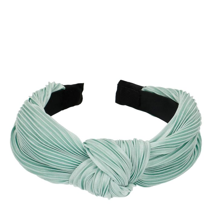 Bandeau plissé - vert