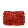 Bandeau tricoté - brique