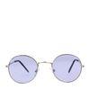 Retro-Sonnenbrille silber