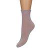 Lilafarbene Glitzer-Socken