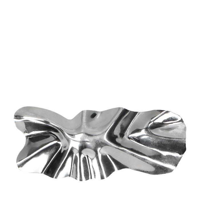 Zilveren haarclip