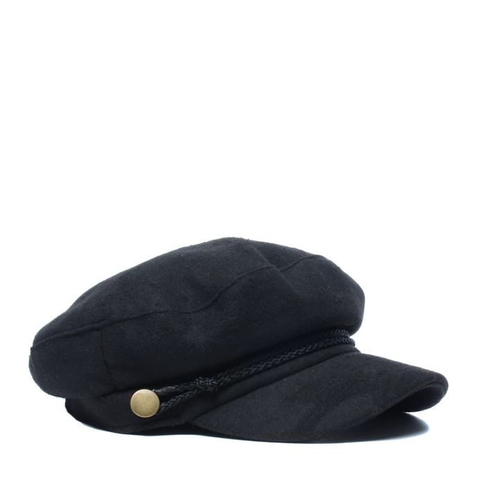 Zwarte sailor hat