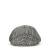 Geruite flat cap