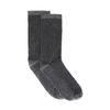 Zilveren glitter sokken