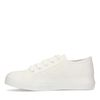 Witte canvas sneakers