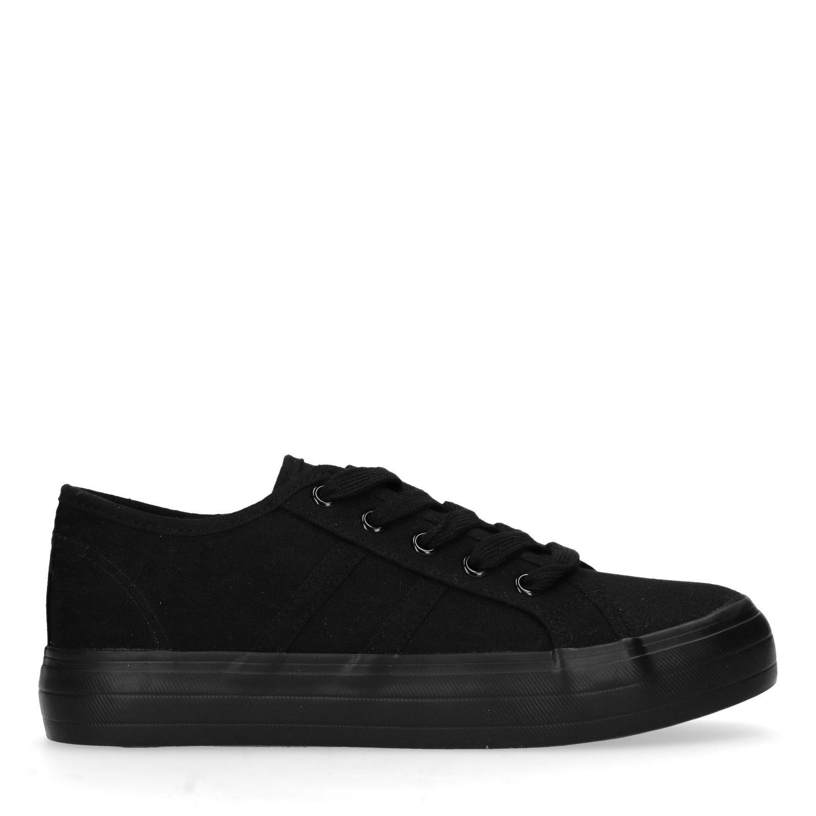 Sacha Zwarte lage sneakers